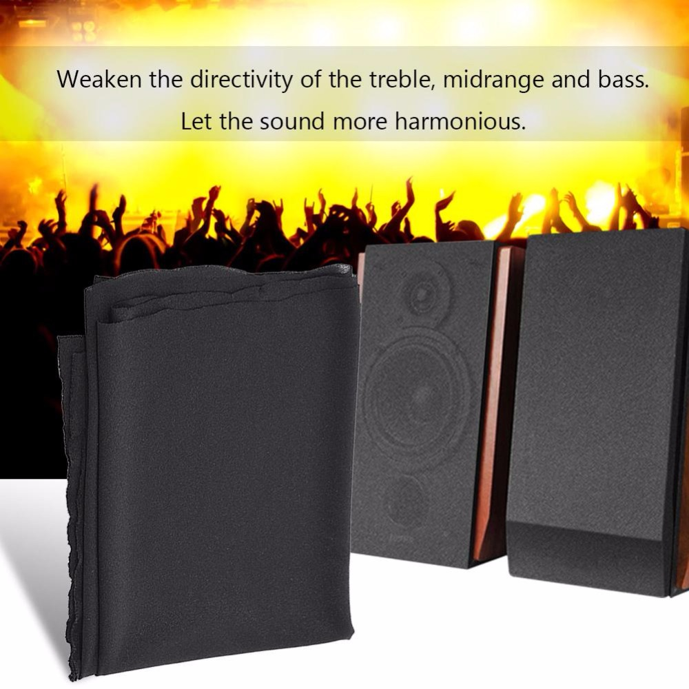 1.7m x0.5m Speaker Grill Cloth Stereo Gille Fabric Speaker Mesh Cloth Dustproof Protective Cover
