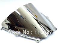 Freeshipping Chrome Windscreen Windshield for 2007 2008 Suzuki GSXR GSX R 1000 K7