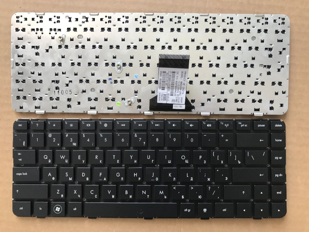 New notebook laptop keyboard for HP DM4-1022 1000 2000 DV5-2000 PORTUGUESE RUSSIAN SWISS TAILAND TURKISH US layout