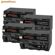 4X NP-F960 NP-F970 Camera Battery for Sony NP F960 F970 MC1500C 190P 198P F950 MC1000C TR516 TR555 DCR-VX2100E/A FX1000 L10