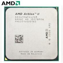 AMD Athlon II X4 635 CPU Штепсель AM3 95 W 2,9 GHz 938-pin четырехъядерный настольный процессор CPU X4 635 разъем am3