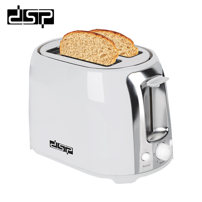 DSP Bread toaster Household Baking 2 Slices Slots for Breakfast toast machine tinton life household bread baking machine kitchen appliance toaster for breakfast