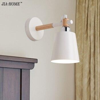 Simple creative wall light led bedroom bedside  1