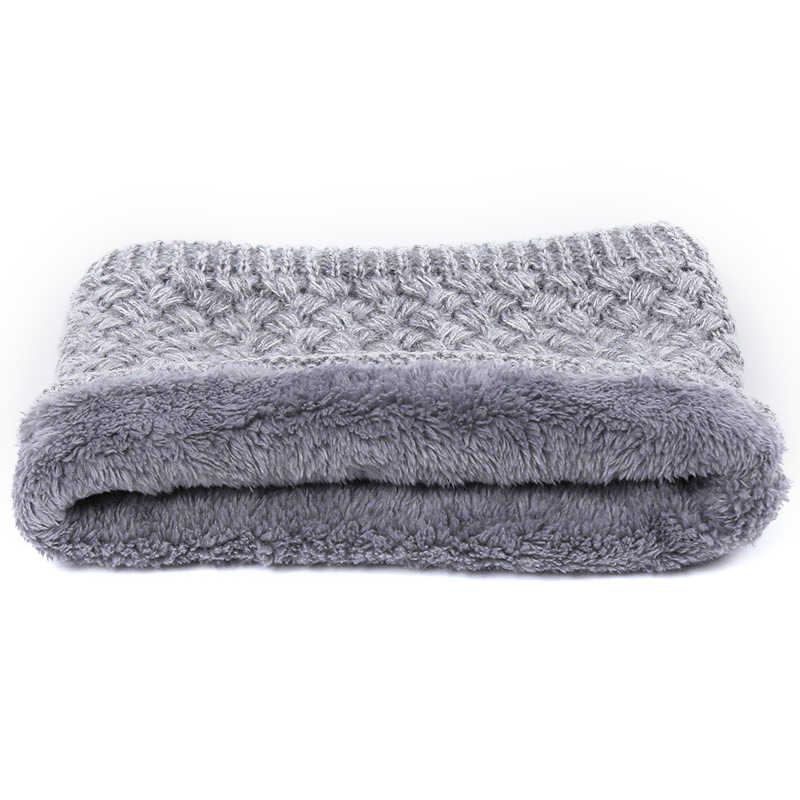 2018 เด็กน่ารัก Pompom ถัก Beanies หมวกผ้าพันคอ 2 ชิ้นชุดขนสัตว์ฤดูหนาวเด็กหมวกผ้าพันคอเด็กผู้หญิงคุณภาพสูงกระดูกเด็ก Warm