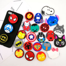 Universal socket mobile phone stretch bracket Cartoon Stitch air bag Phone Expanding phone Stand Finger car Holder for(China)