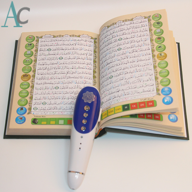 ФОТО New Upgrade Digital Holy talking pen Quran reading pen QM8220 4G Digital Quran Pen Reader Free shipping