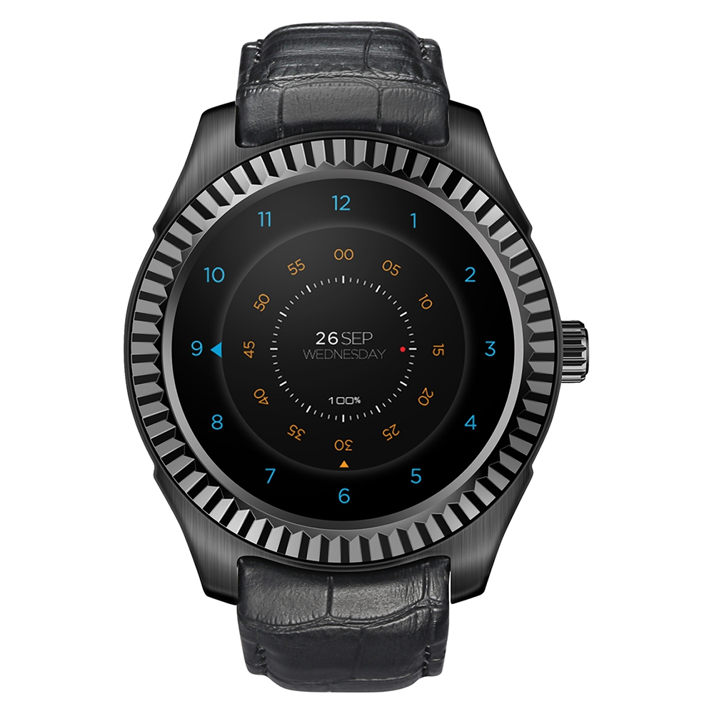 DTNO.I D7 Smart Watch Android 4.4 SIM 500mAh GPS Watch WIFI 3G Bluetooth 4.0 Pulse Monitor Wearable Clock Devices Smartwatches