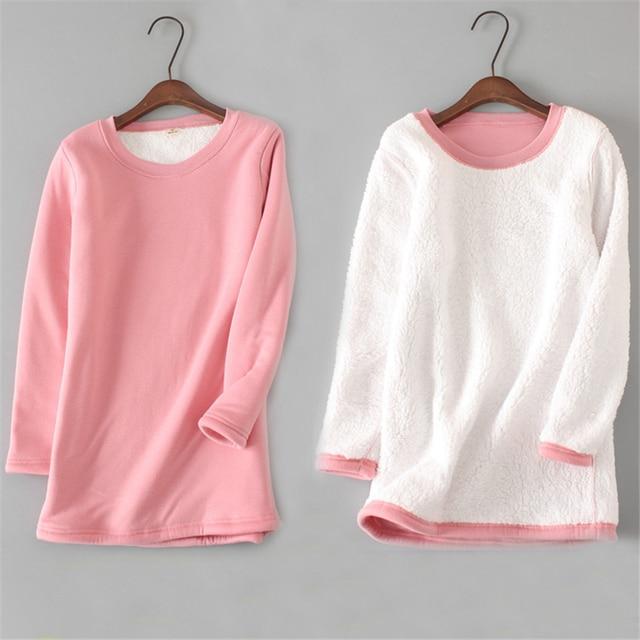 2019 Velvet T Shirt Autumn Winter