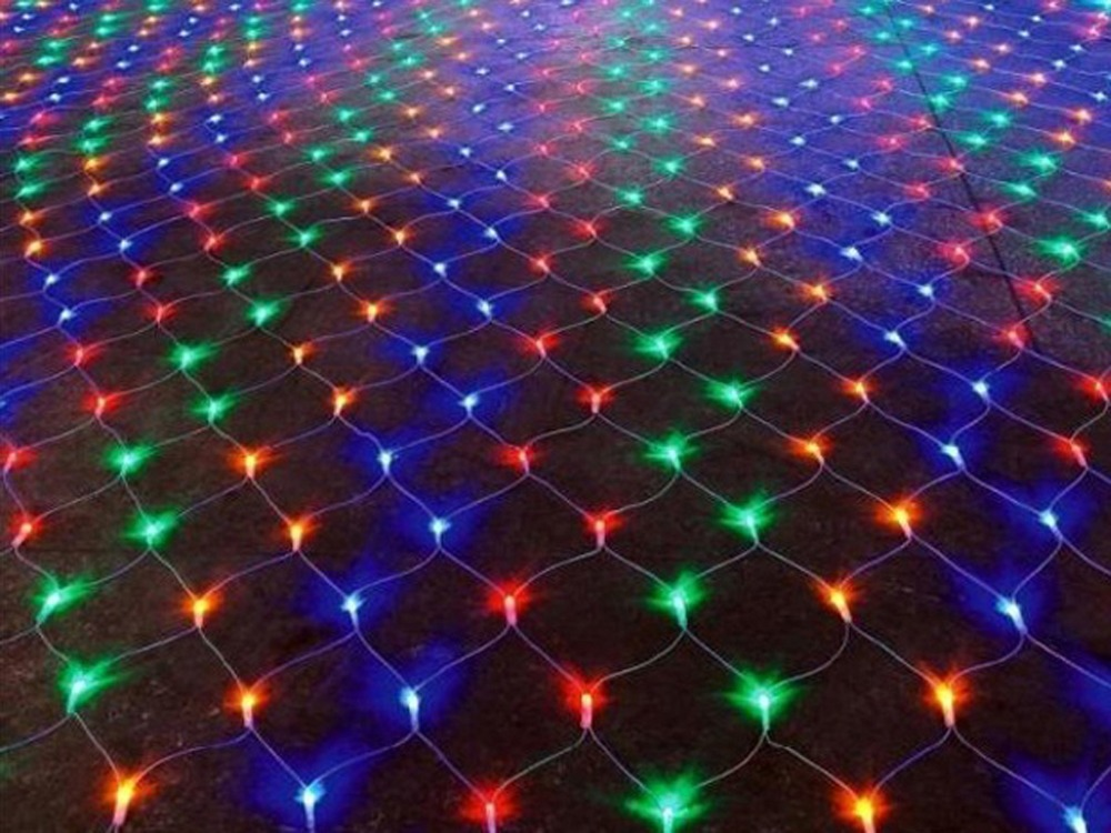 96led outdoor christmas decoration led string net for 160 net christmas decoration lights clear