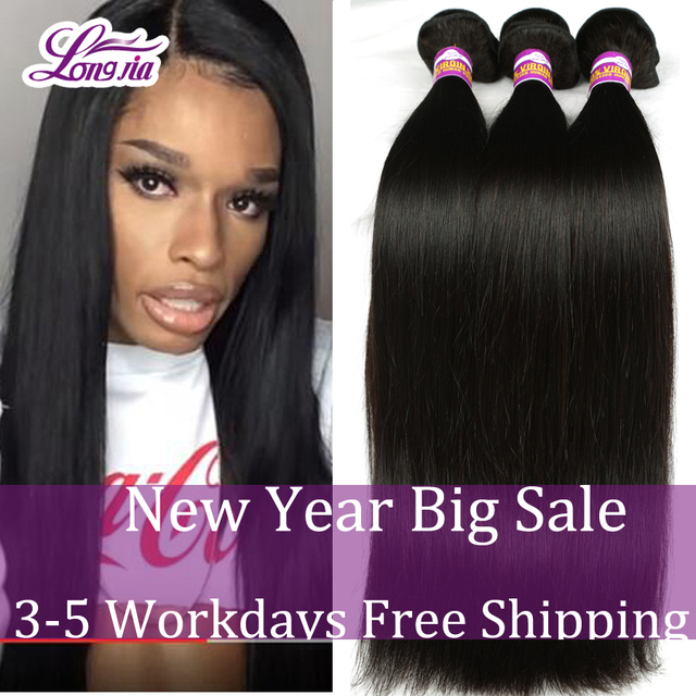 Peruvian Virgin Hair Straight 3Bundles Annabelle Hair Company 8A Grade Virgin Unprocessed Human Hair Rosa Peruvian Straight Hair