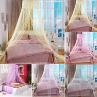 Princess bed do not install 5 colors Bedroom Home Canopies Bed Canopy Netting Curtain Prevent Insect Mesh Mosquito Add romance