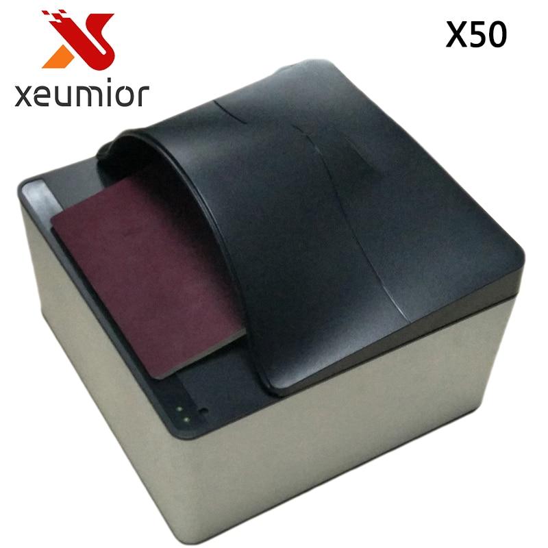 Lecteur de passeport Portable 24 bits Scanner de passeport certifié CE et FCC