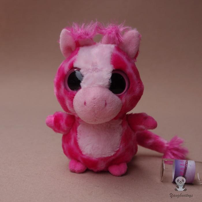 Baby Toy Kawaii Big Eyes Pink Deer Dolls Stuffed Toys For Girls Birthday Gifts