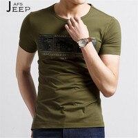 JI PU Micro Elastische Zomer Man Gedrukt Casual Korte Mouw t-shirt, O-hals Comfortabel Ademen Real Man actieve tshirt