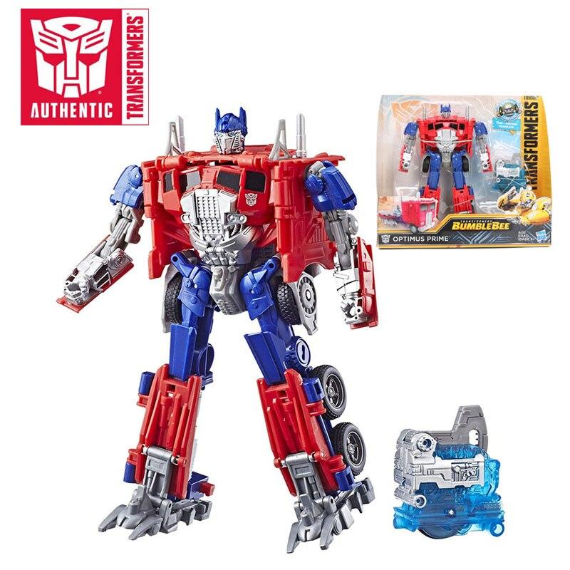 18.5 cm transformateurs jouets film 6 allumeurs Energon série Nitro Bumblebee Optimus Prime Barricade figurine à collectionner modèle