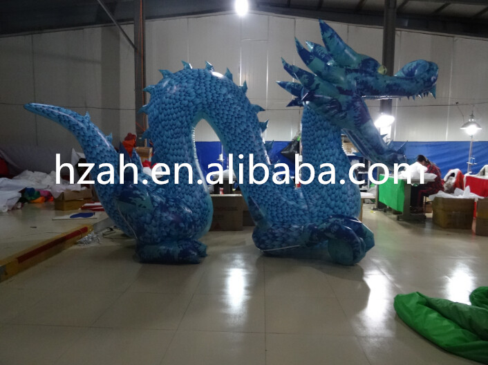 Giant Inflatable Chinese Dragon For Advertising