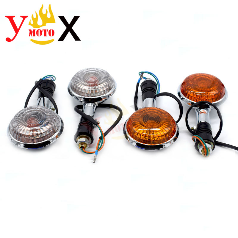 Motorcycle Turn Signal Light Indicator Blinker Lamp Flasher For Yamaha VMAX VMAX1200 VSTAR XVS650 XVS400 SVS1100 VIRAGO XV750