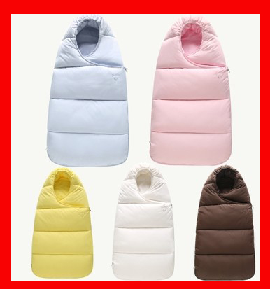 Спальный мешок для малышей зимний конверт для новорожденных сна тепловой мешок хлопок дети мешок для сна в перевозки колясок