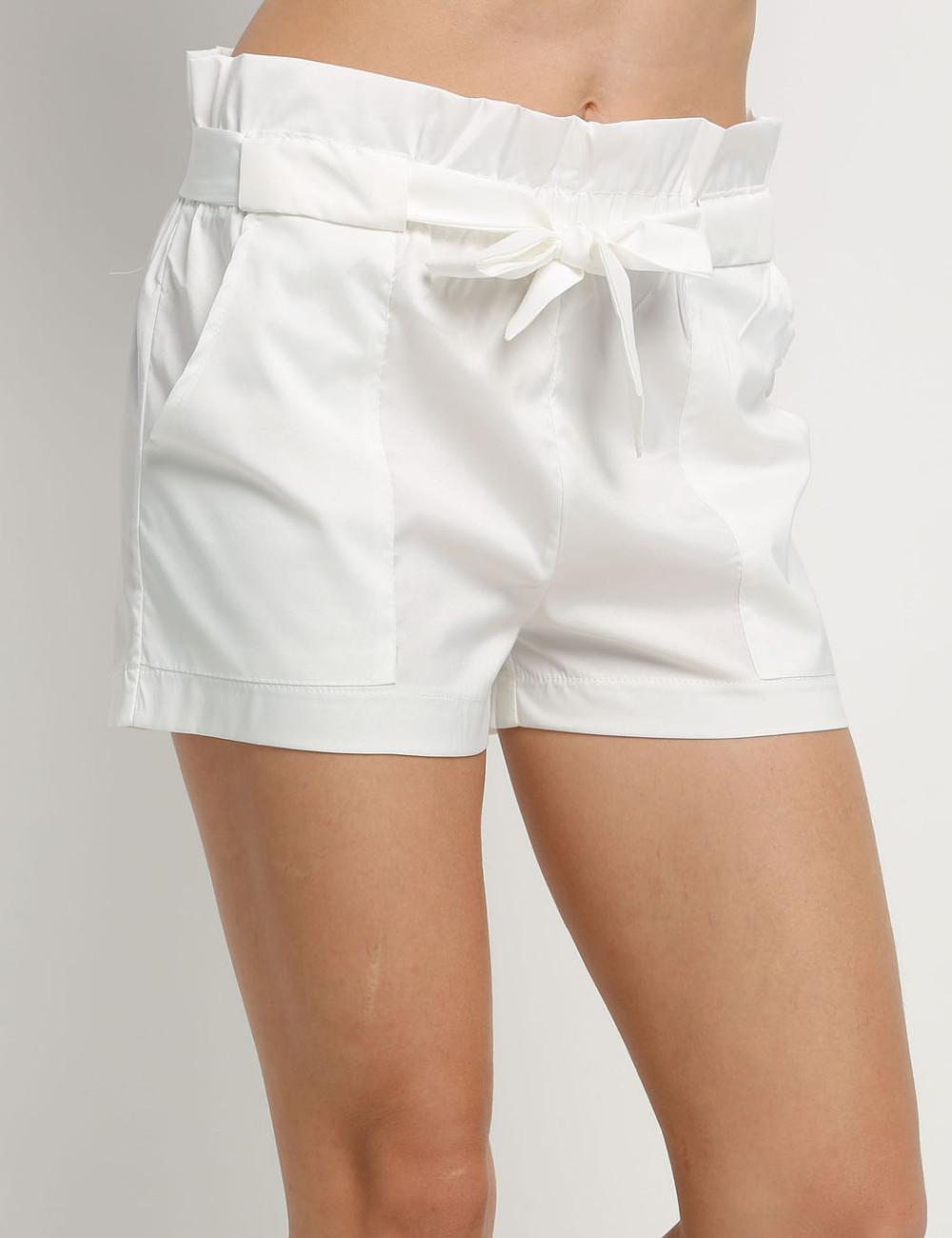 HTB1P6MkNFXXXXa apXXq6xXFXXXg - High Waist Shorts Loose Shorts With Belt Woman PTC 59