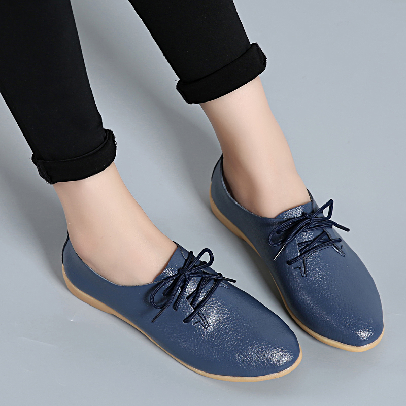 2018 new ladies shoes women casual flat fashion soft mother loafers female hot sale summer shoes footwear women flats DBT700 flat shoes women pu leather women s loafers 2016 spring summer new ladies shoes flats womens mocassin plus size jan6