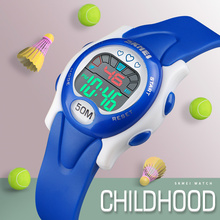 SKMEI Sport Student Children Watch Kids Watches Boys Girls Clock Child LED Digital Wristwatch Electronic Wrist Watch Boy Girl цена