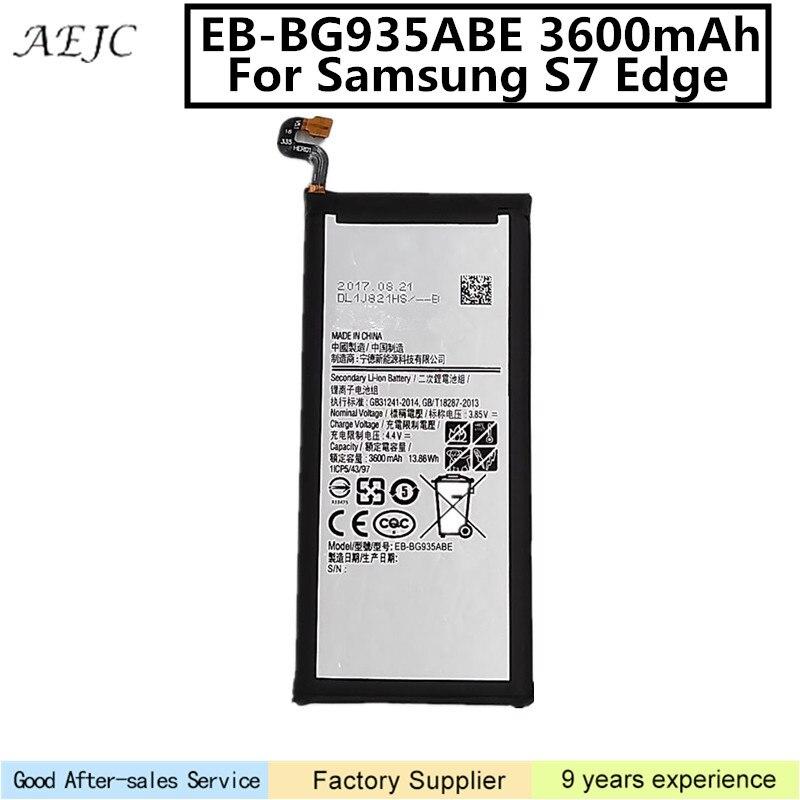 Battery S7edge G9350 Samsung Galaxy For Sm-g935/G9350/G935fd/.. 3600mah