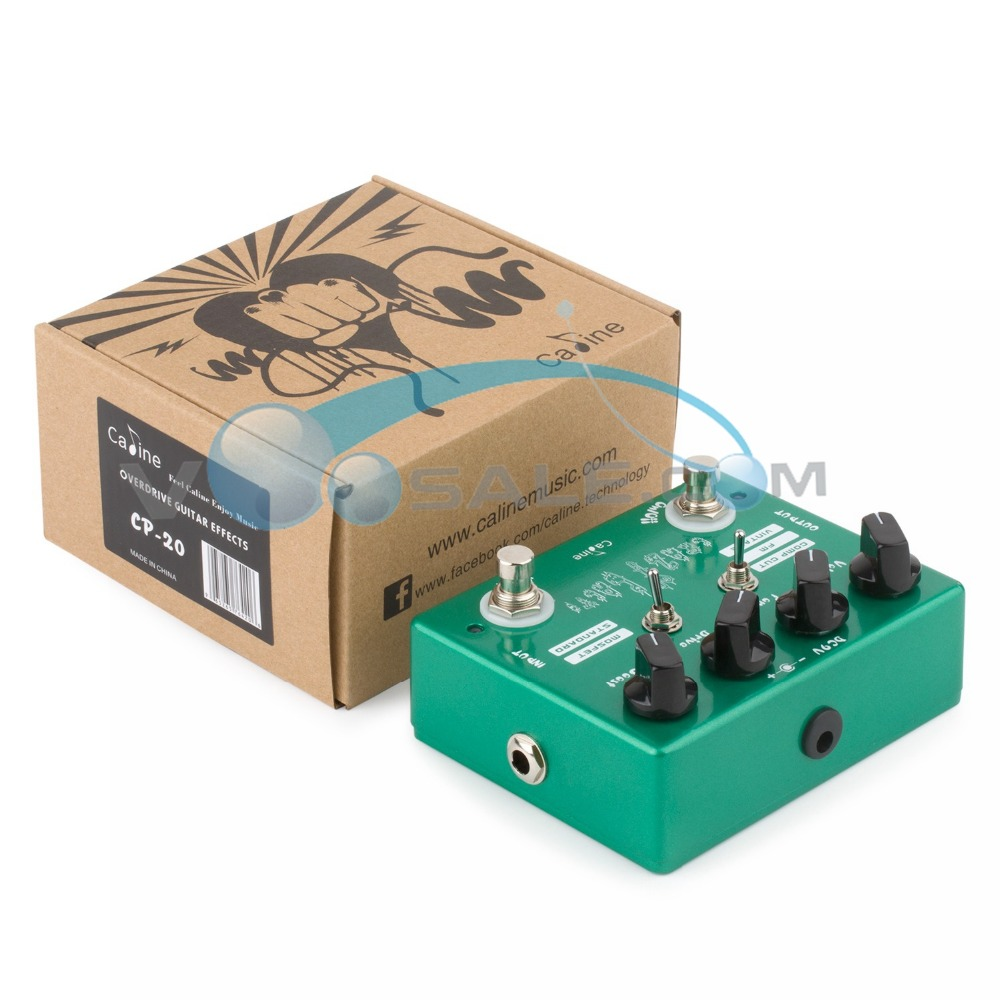Caline CP-20 Crazy Cacti Overdrive Гитара әсері - Музыкалық аспаптар - фото 3