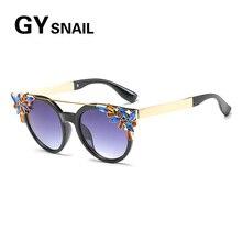 be68d2854e GYsnail 2018 Vintage Cat Eye Sunglasses Women Brand Designer Retro Female Sun  Glasses For Women Ladies