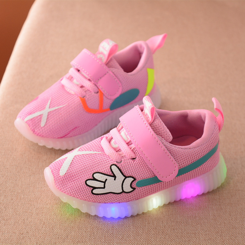 Sports Kids Breathable sneakers shoes children Casual boys girls luminous lighting glowing LED shoes TN20Sports Kids Breathable sneakers shoes children Casual boys girls luminous lighting glowing LED shoes TN20