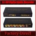 5.1 CH цифровой аудио декодер конвертер DTS/AC3 цифровой аудио декодер с USB функции сми