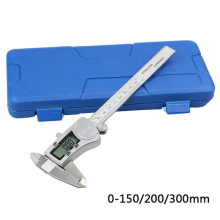 Electronic digital vernier caliper stainless steel Measuring Tool Waterproof IP54 150mm 200m 300mm Micrometer Measuring Tools