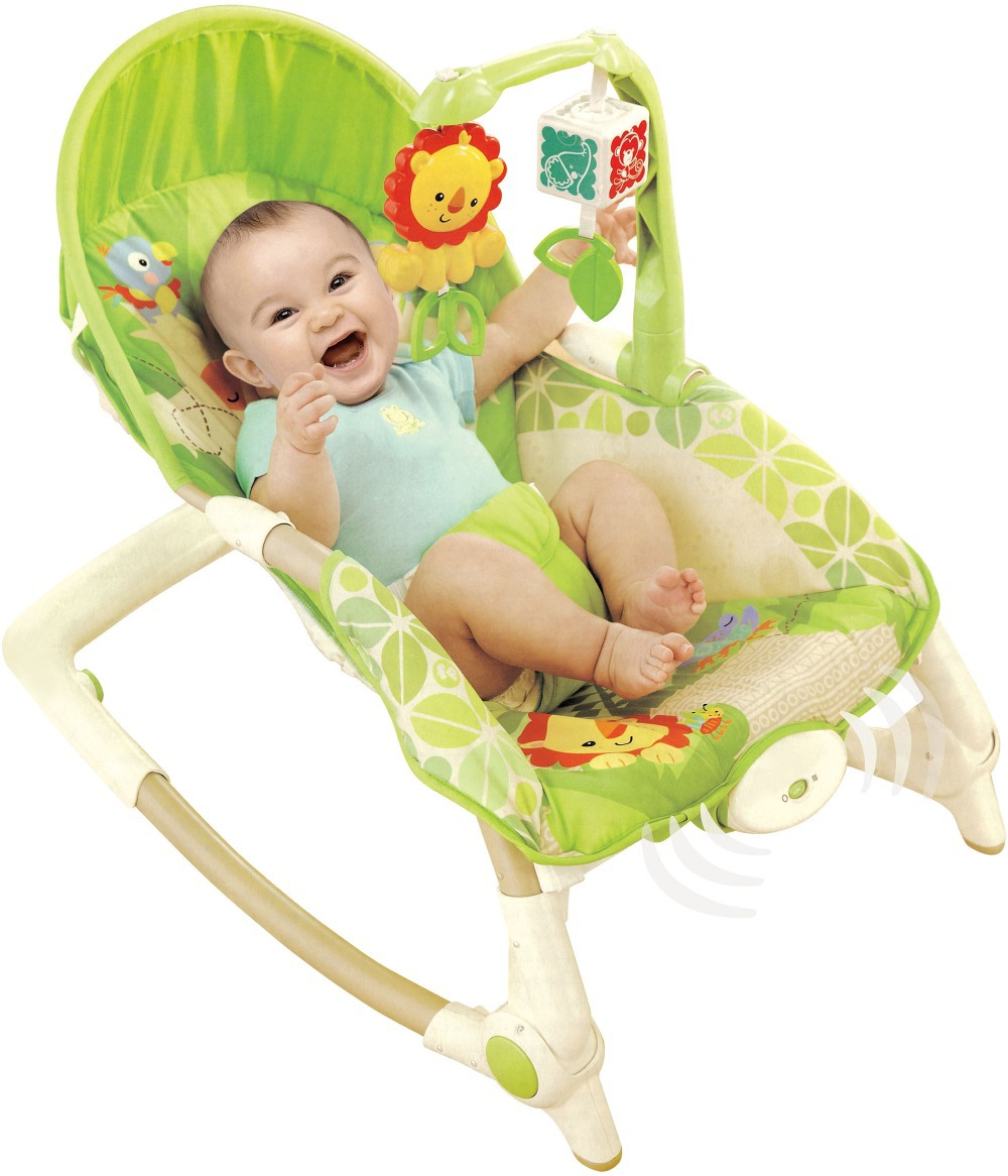 297b6599d Free Shipping Newborn to Toddler Rocker Musical Baby Rocking Chair ...