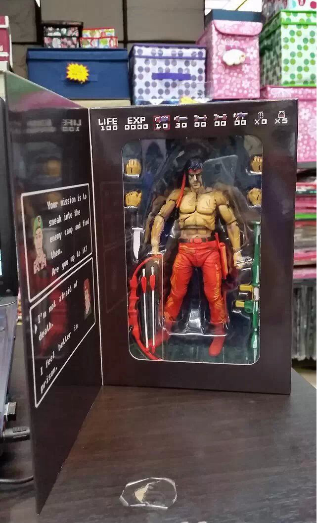 все цены на  High Quality!!! Rambo First Blood SYLVESTER STALLONE Rocky 7inch PVC Action Figure Model Collection Toys Gift  онлайн
