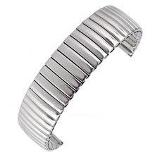 Высокое качество Гибкая нержавеющая сталь серебро часы ремешок 18 мм Эластичность браслет для мужчин женщин лучше заменить мужчин t