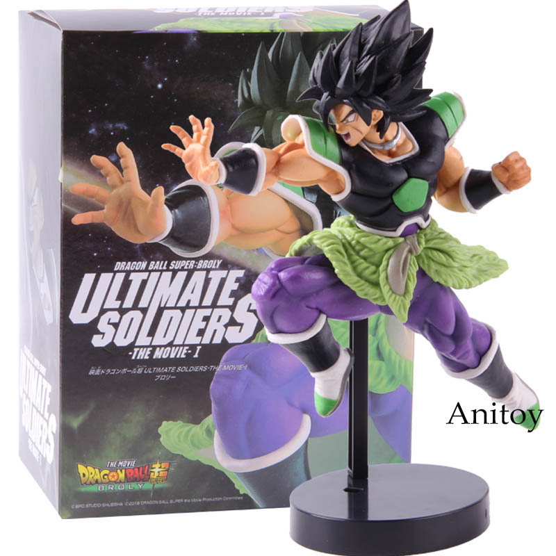 Anime Dragon Ball Super Broly ULTIMATE SOLDIERS Action Figure Collectible Model Toy Gift For Kids