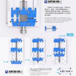 MIJING K22 platformy oprawa uniwersalny wielofunkcyjny łożyska oprawa dla iphone dla samsung zastąpienie płyty głównej do naprawy telefonu