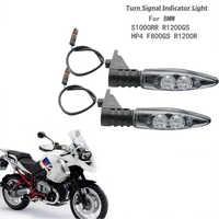 Paar Für BMW Motorrad Led Blinker Leuchtet Vorne Indikatoren Für BMW R1200 GS R1200GS ABENTEUER K1300 R R800GS F 800 R F800 R