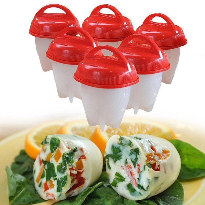HOT Egglettes Cooker Drop Cup Silicone Kitchen Gadgets Non-Stick Silicone Egg Cup Cookin ...