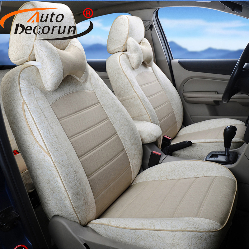 AutoDecorun Custom font b Car b font Seat Supports for Mitsubishi Lancer Automobiles Seat Covers for