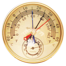 On sale 4 Inches TH9392D Dial Thermometer and Hygrometer Humidity Outdoor  Barometer