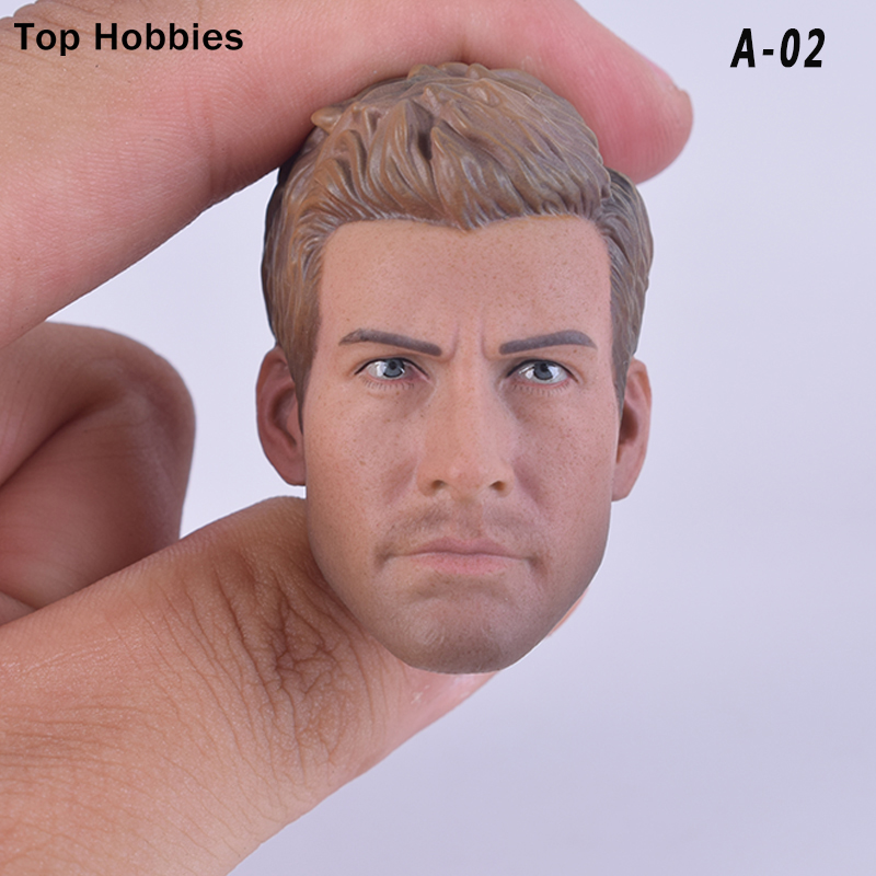 1/6 Scale Soldiers accessories Jack Jihaluner Head Sculpt Carving Headplay A02 For 12