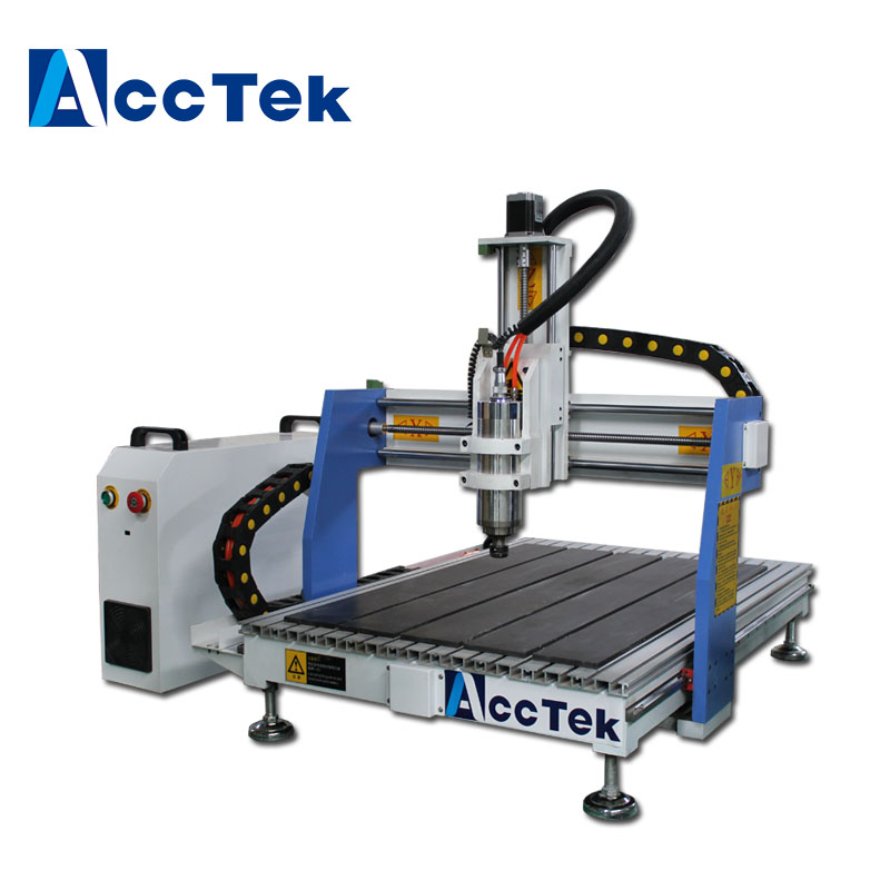 Jinan High Quality 4 Axis Wood  Cnc Router 600*900mm Cnc Cabinet Machine
