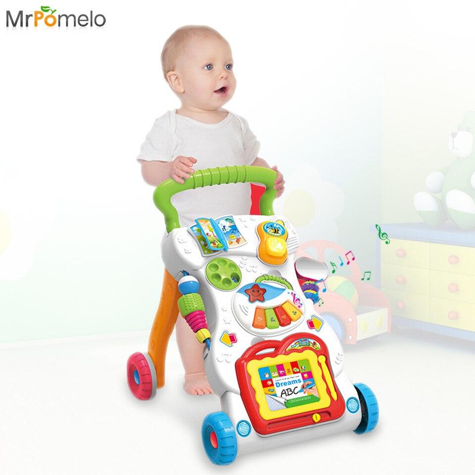 Mrpomelo Baby Walker Wheels Toys Toddler Multi Functional