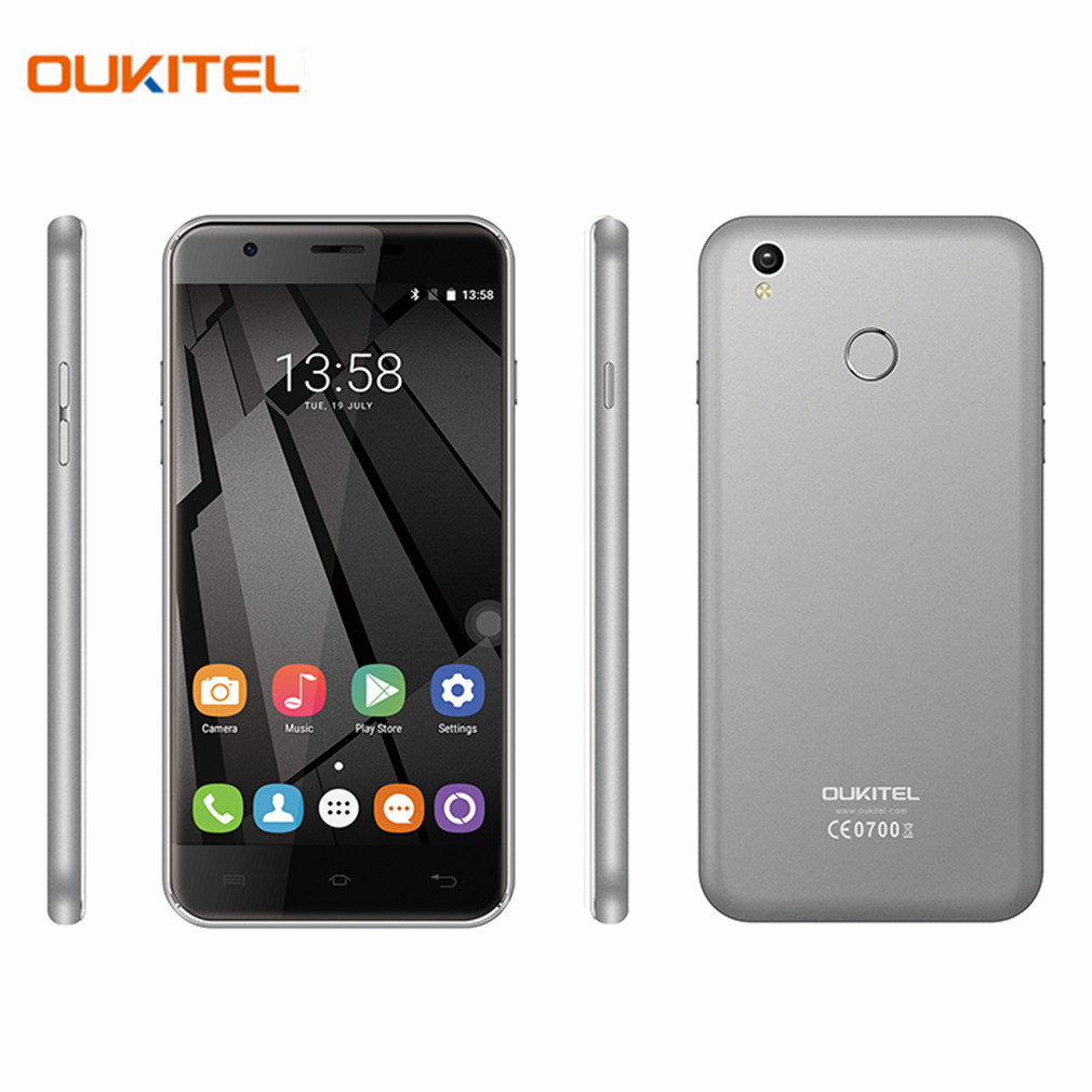OUKITEL U7 Plus 5 5 inch 1280 720 HD 4G FDD Cellphone Android 6 0 MTK6737