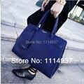 Большой сумки женщины в сумочка платина мешок сумочка синий