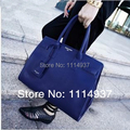 Free shipping  Fashion big bags 2014 women's handbag fashion platinum bag handbag blue