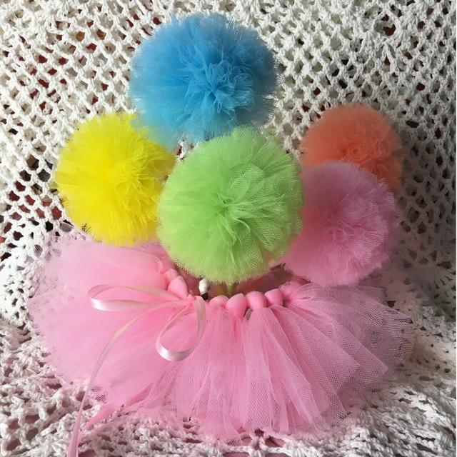 a97c64eec 5 tulle pom pom wands + 1pcs tutu skirt for Jar Table Decor Party  Decoration/princess Party Centerpiece/Tutu pom pom wands