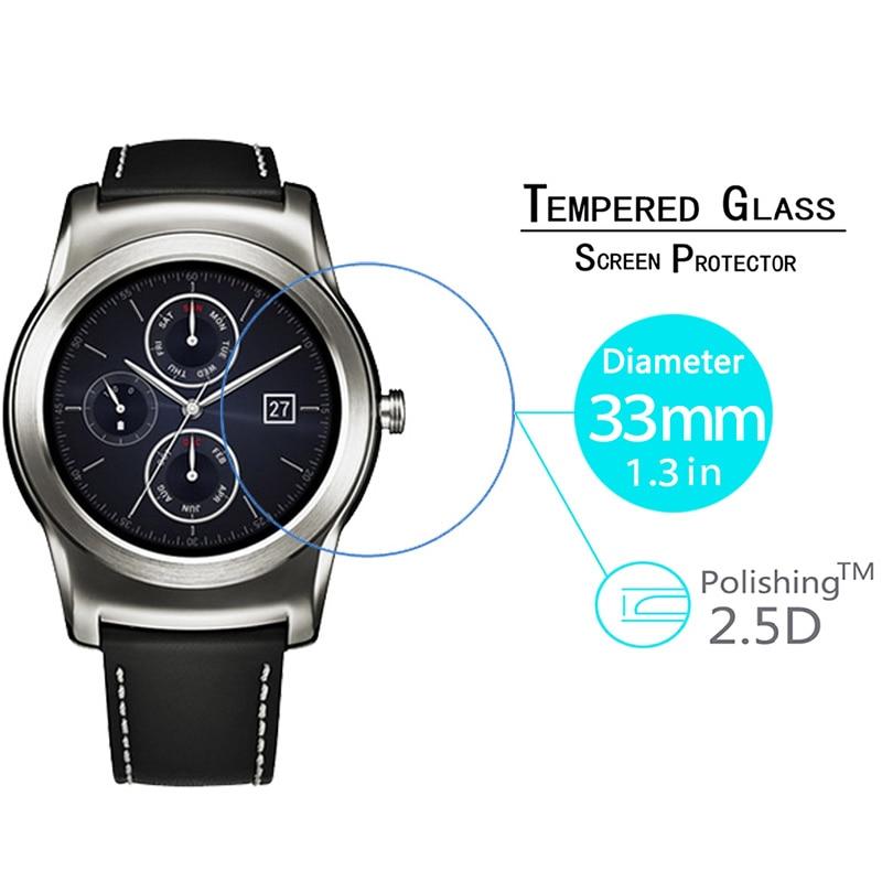Tempered Glass For LG G Wrist W110 W 110 Screen Protector Smart Wristband Men Wonmen LED Lens Film on Urbane W150 W 150