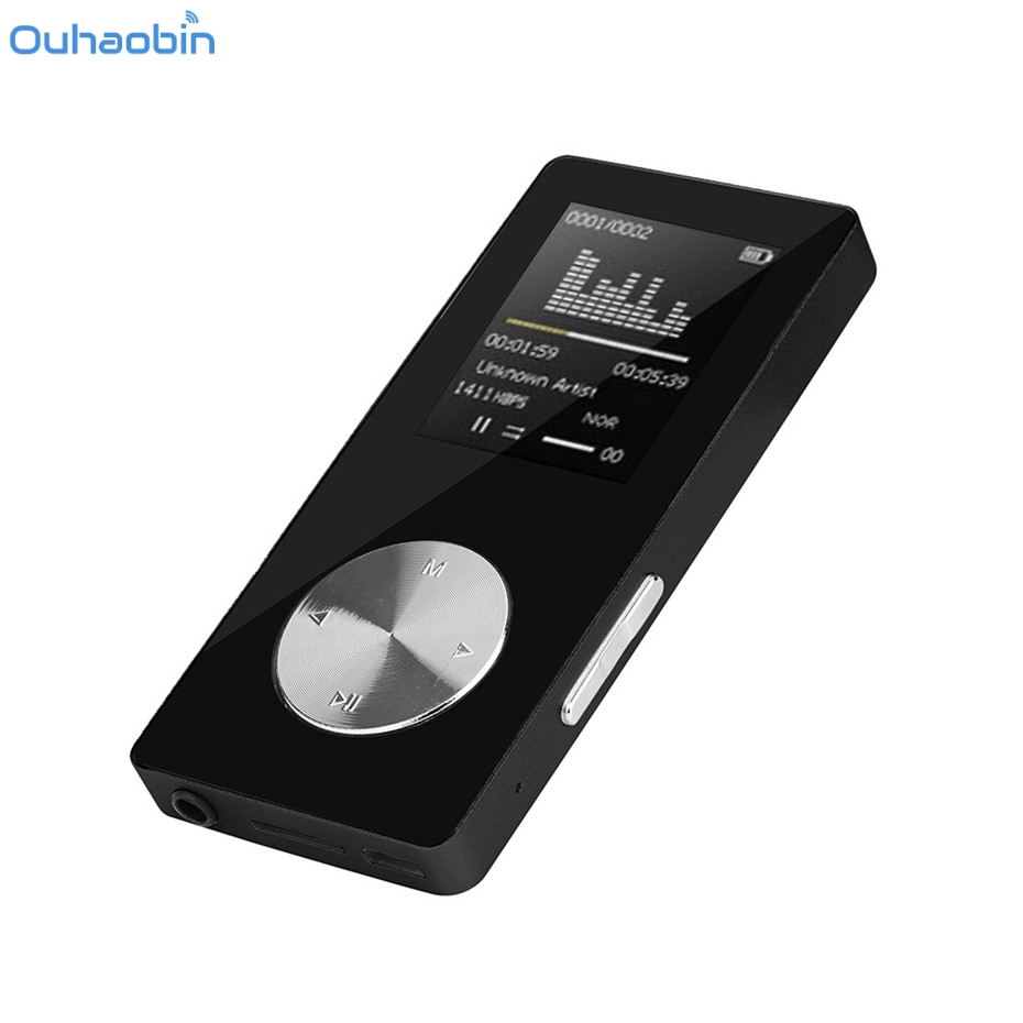 Ouhaobin 4G MP3 Music Player 1.8 TFT Mp3 HiFi Lossless Sound Music Player FM Recorder E-Book Multifunction MP3 Dropship Dec15