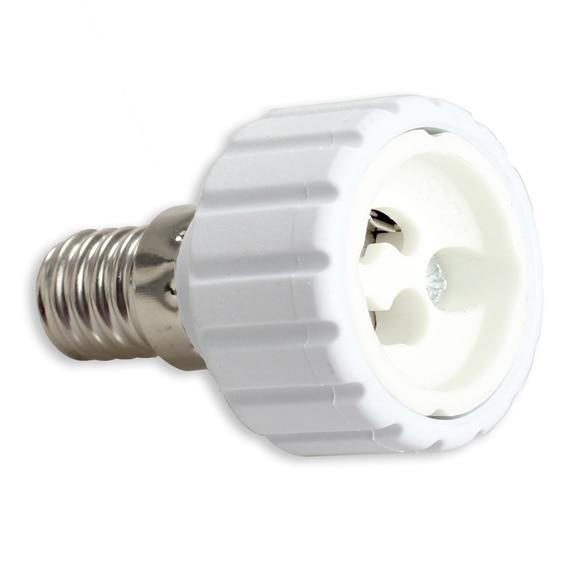 E14 to GU10 Light Base Adapter LED Halogen Light Lamp Bulb Adapter Converter Base Socket Free Shipping